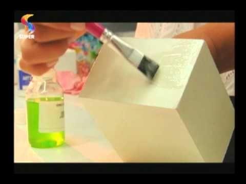 SEMPRE FELIZ - Aprenda três técnicas de 'craquelê' em caixinhas de MDF - YouTube