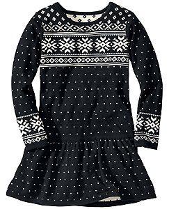 Snowy Sweden Dress: Holiday Classic