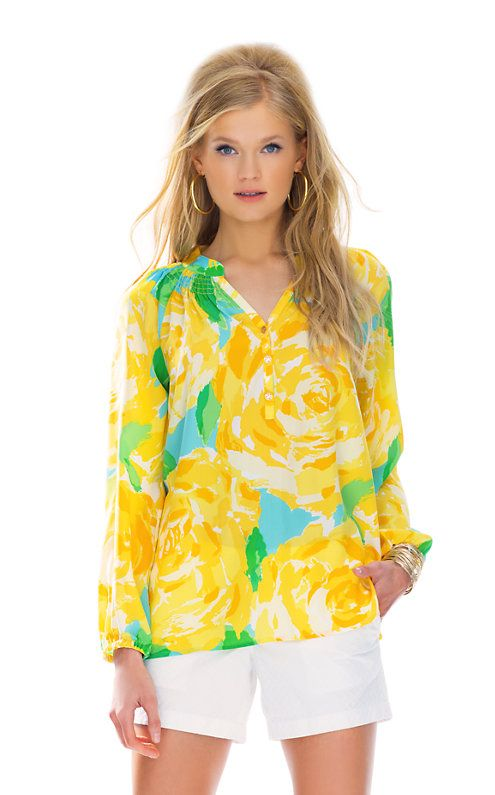 Lilly Pulitzer Elsa Top in First Impression