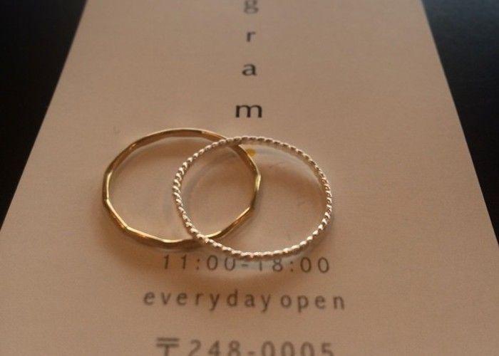 鎌倉のアクセサリー屋さん『gram』で世界に一つだけの指輪づくり♡のトップ画像