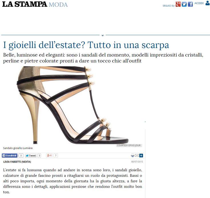 O Jour on La Stampa, July 2015