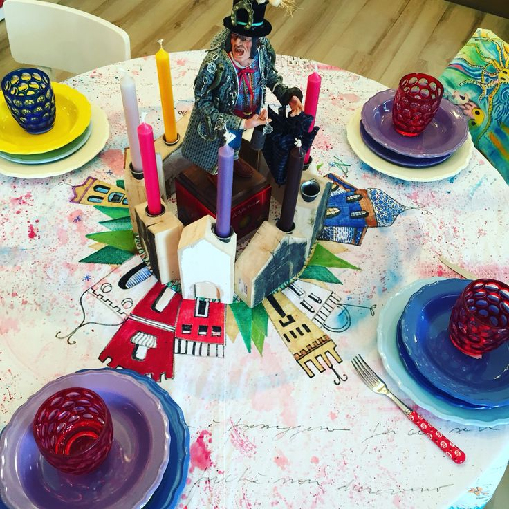 Hause up table fabric paint