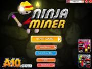 Let's enjoy a new day with a cool game named Ninja Miner  dear players! All of you are given a chance to travel along with an intelligent ninja with the a