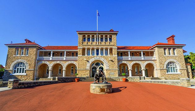 The Perth Mint was opened in 1899