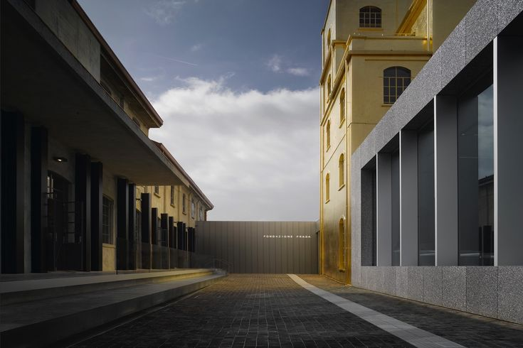 Offering year-round exhibitions and events, the Milan outpost of contemporary art giant Fondazione Prada in Largo Isarco was designed by Rem Koolhaas.