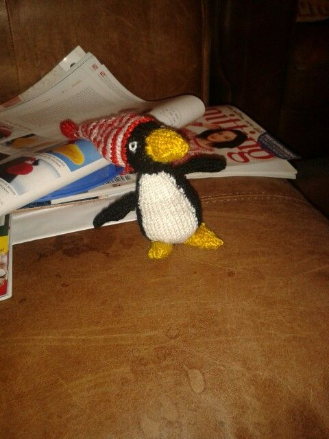 Petey the penguin