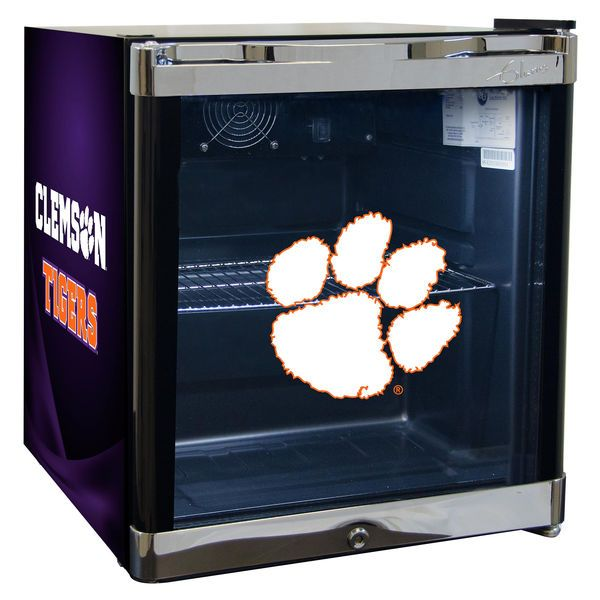 Clemson Tigers Refrigerated Beverage Center with Glass Door - $369.99