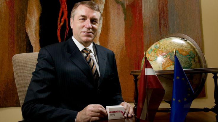 Ivars Kalvins, l'inventeur du Mildronate