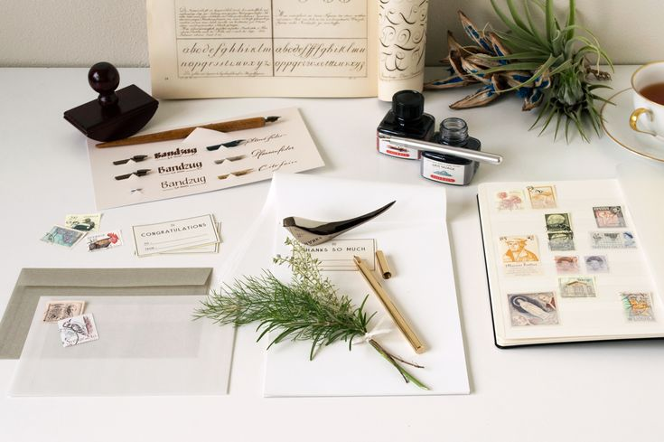 at HOME – dressense stationery,letter,desk,stamp,calligraphy,letteropnener,mucu,reuchtturm,caweco,envelope