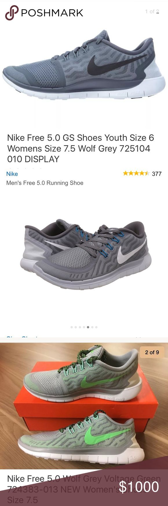 nike free 5.0 (ISO) I am looking for any of these shoes in a women's 7-8 or a men's/kid's 5-6. good condition Nike Shoes