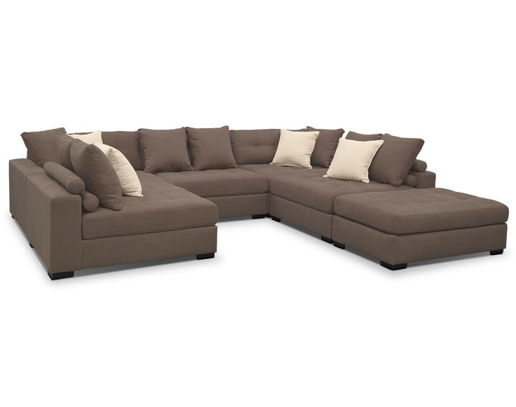 the venti mocha sectional collection value city furniture