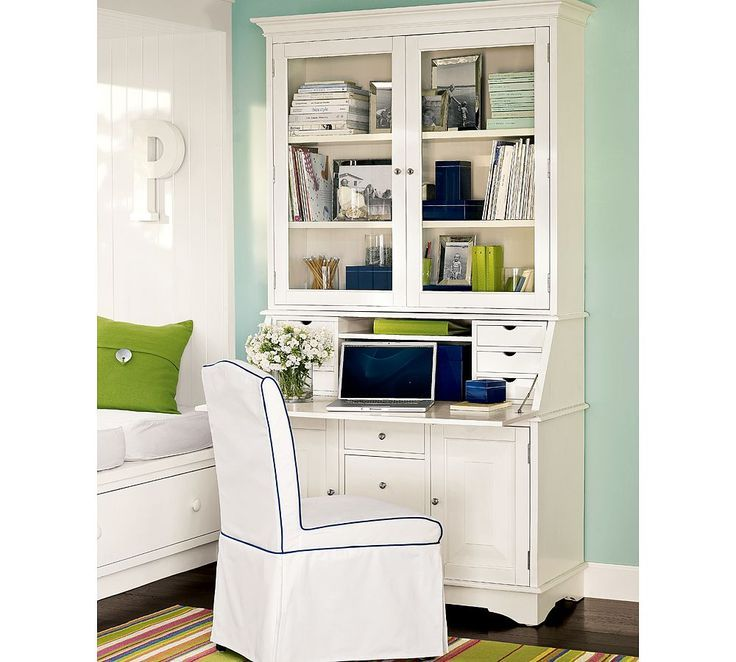 Modern Secretary Desk With Hutch Too Bad It S