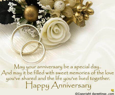 Beautiful Anniversary card for a couple..
