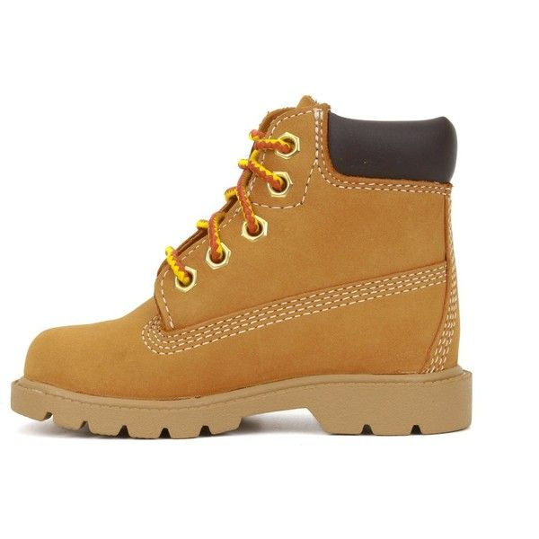 Timberland 6-Inch Classic Boot (Toddler Little Kid Big Kid) ( 30) ❤ liked  on Polyvore featuring shoes and boots  32edfb785