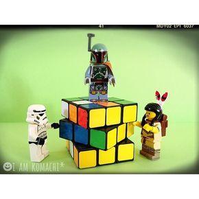ルービックキューブ Rubik's Cube  #レゴ #ブロック #ミニフィグ #玩具 #おもちゃ #食玩 #スターウォーズ #レゴスターウォーズ #インディアン #ストームトルーパー #ボバフェット #ルービックキューブ #lego #brick #toy #starwars #legostarwars #legoindian #legotribalwoman #stormtrooper #bobafett #legominifigures #minifigures #minifigure #minifig #legostagram #legophotography #rubikscube by i_am_komachi