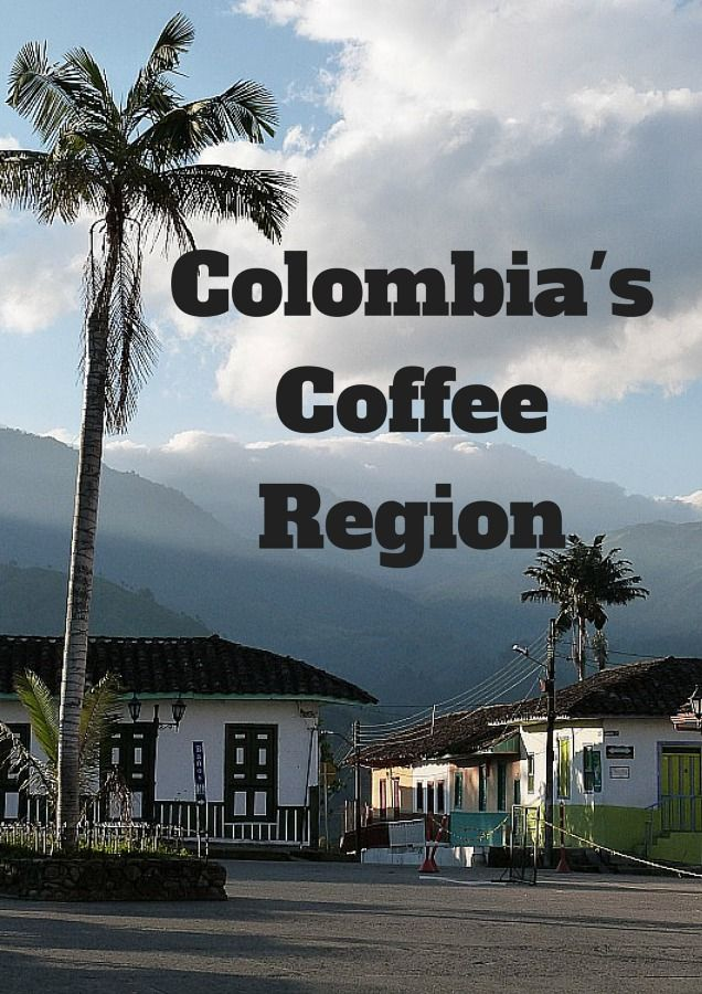 Colombia's Coffee Region via The World on my Necklace