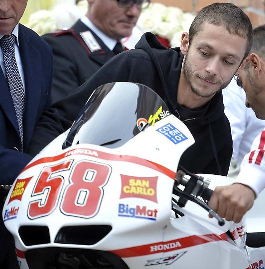 Valentino Rossi goodbye Sic