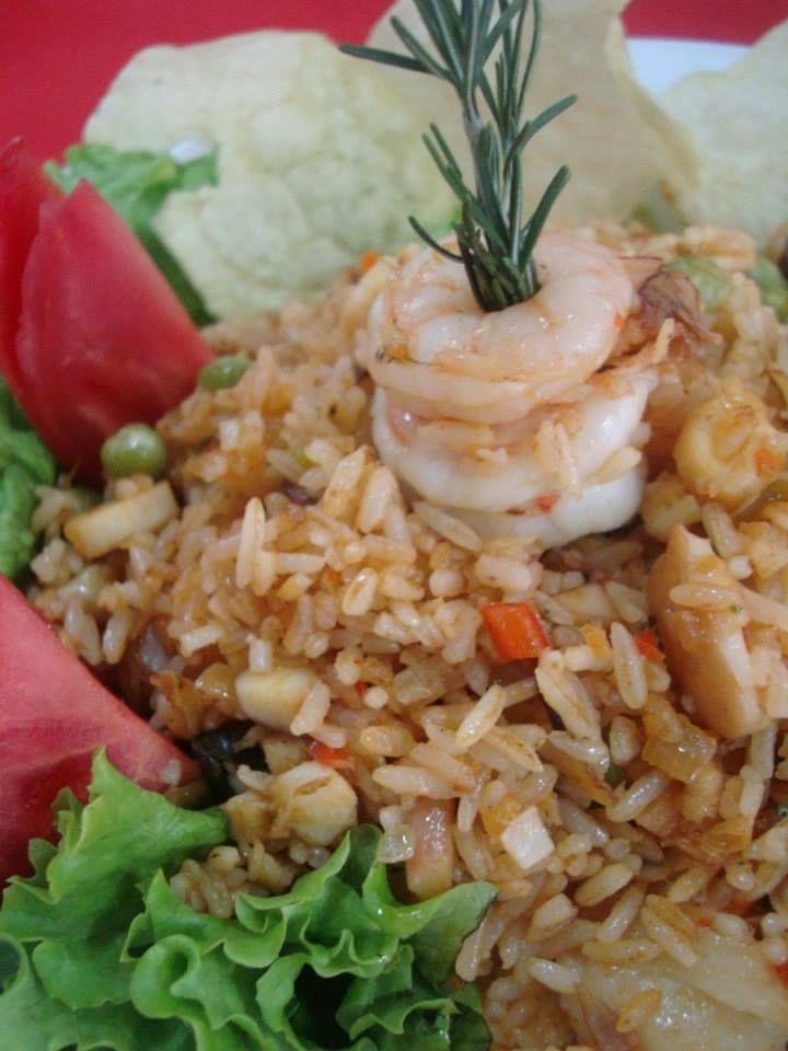 Pescados y Mariscos - Arroz con camarón