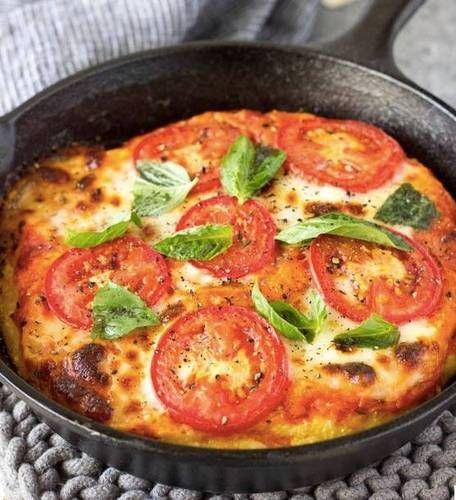 30 minute meals polenta pizza recipe