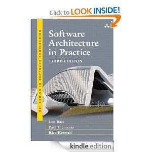 Software Architecture in Practice (3rd Edition) (SEI Series in Software Engineering) Software Architecture in Practice (3rd Edition) (SEI Series in Software Engineering)   http://www.amazon.com/gp/product/B009GMUL84/ref=as_li_ss_tl?ie=UTF8=1789=390957=B009GMUL84=as2=onthemonewi0b-20