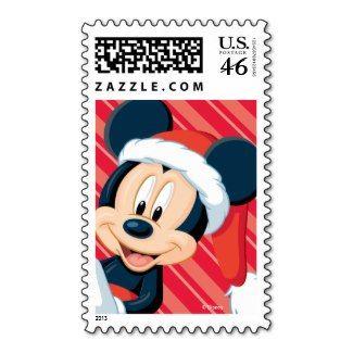 Mickey Christmas Postage Stamps #Disney