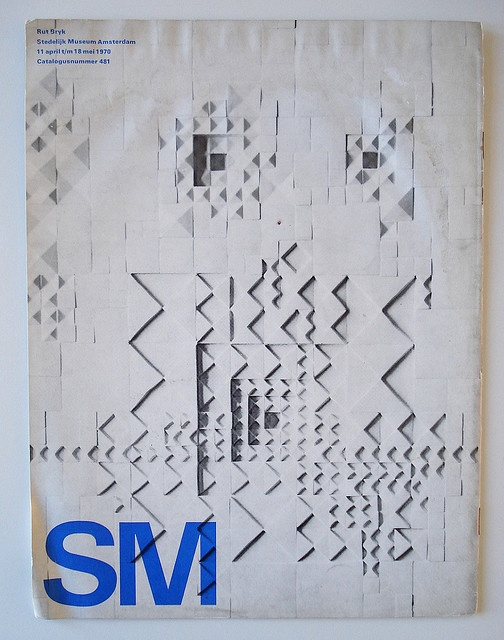 Exhibition catalogue for the Stedelijk Museum Amsterdam; design Wim Crouwel