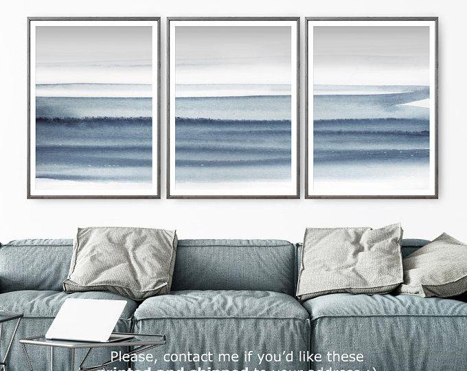 Coastal Art Beach Decor Wall Art Set of 2 Prints Photography Prints Beach Print Ocean Print Ocean Art Wall Art Prints Beach Art