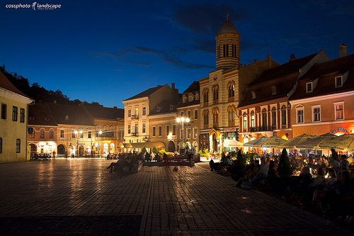 City Night BRASOV.