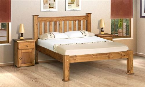 Wooden Beds for sale, Sleigh bed.