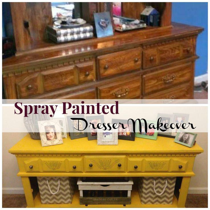 25 Best Ideas About Spray Paint Dresser On Pinterest Spray Painted Furniture Spray Paint
