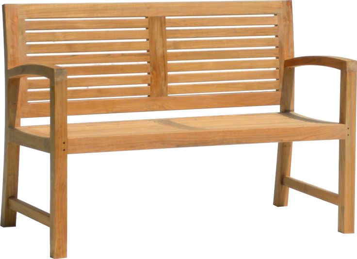 solid teak benches