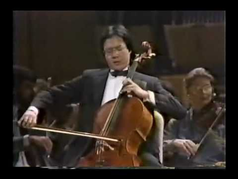 Cultural Beacons: Yo-Yo Ma plays an enchanting The Swan from Saint Saens as encore!