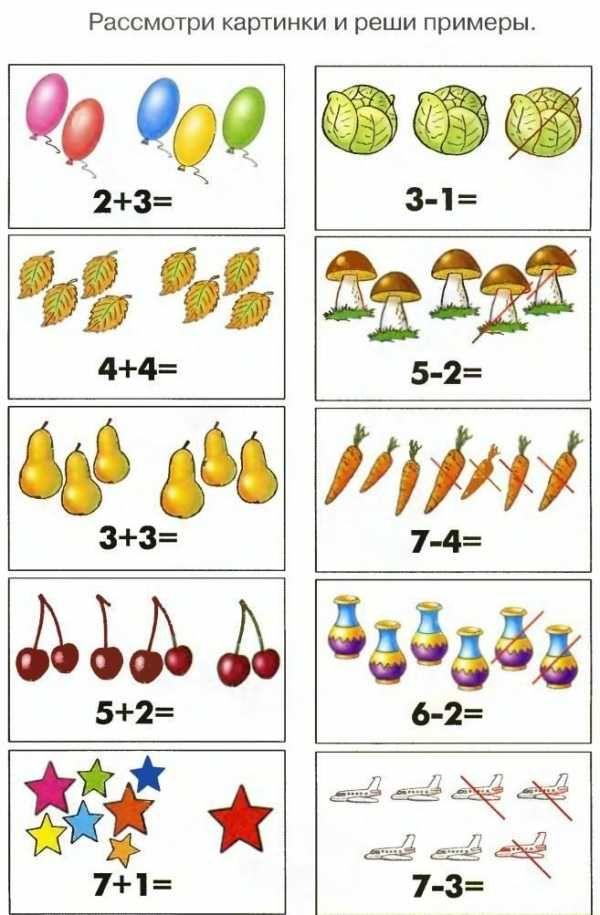 Картинки математика для дошкольников