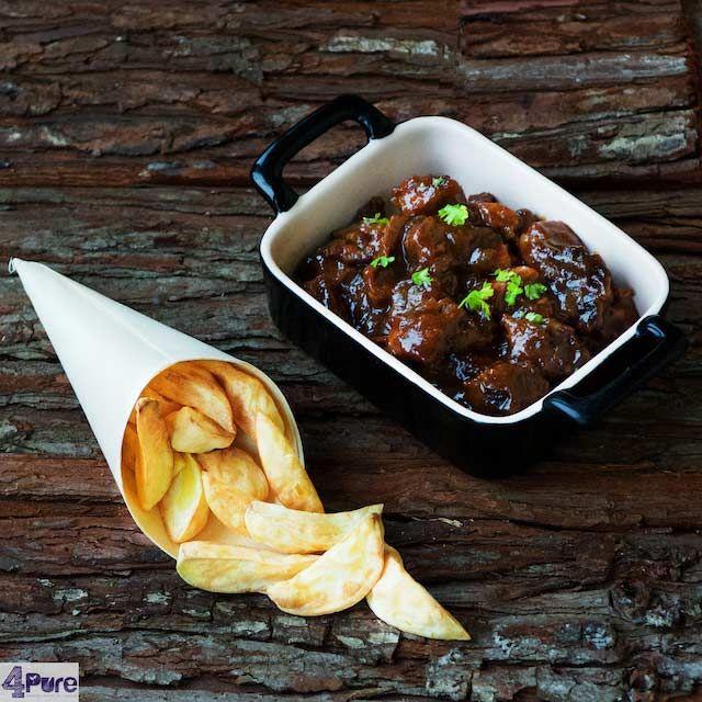 Limburgs zuurvlees (zoervleisj) - Dutch sour meat (zoervleisj) zie recept http://www.4pure.nl/limburgs-zuurvlees-zoervleisj/