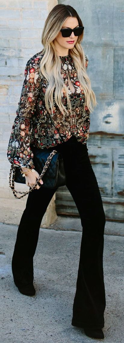 embroidered boho blouse.