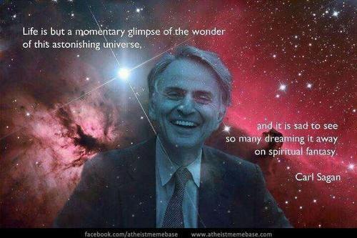 My favorite Carl Sagan quote
