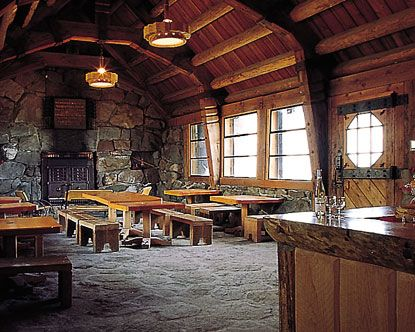 Timberline Lodge, Silcox Hut.  This was the other location we were considering for our wedding