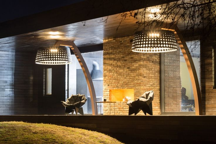 lamps Gallery of House for Weekends / SBM studio - 5