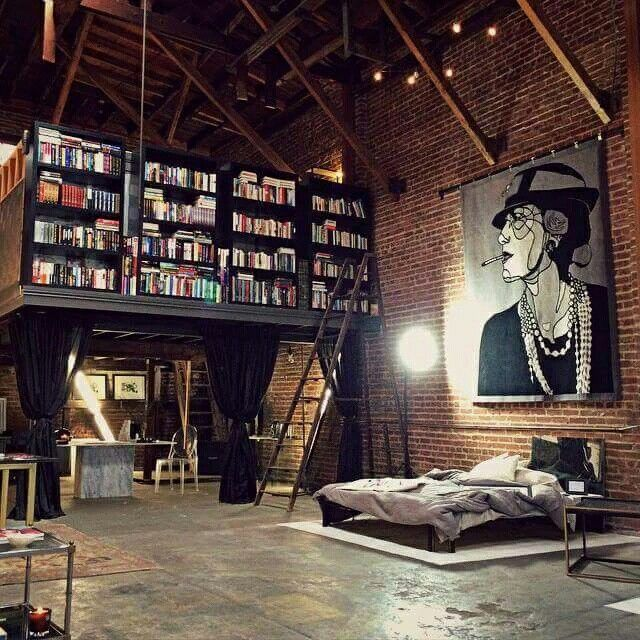 Modern Industrial Style Combines Aesthetics With: 17 Best Ideas About Mini Loft On Pinterest