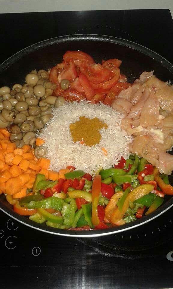 Complet au riz poulet