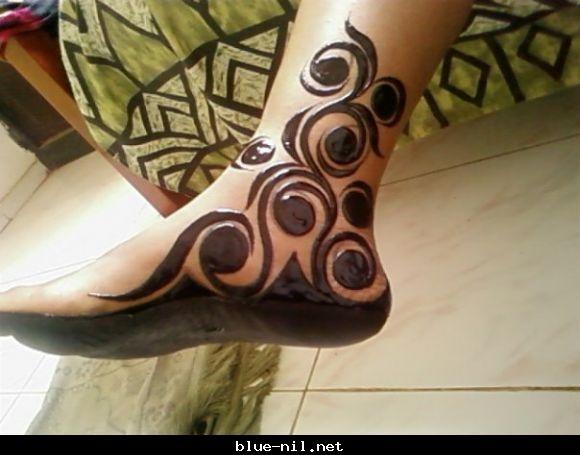 اضغط على الصورة لرؤيتها بالحجم الكامل Sudanese Henna; PPD