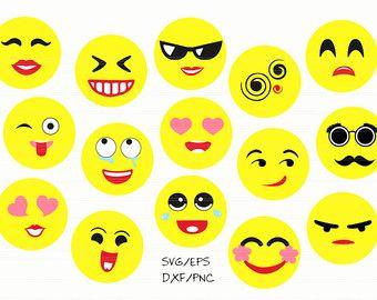 Emoji SVG, emoji decal, emoji clipart, emoji party, svg