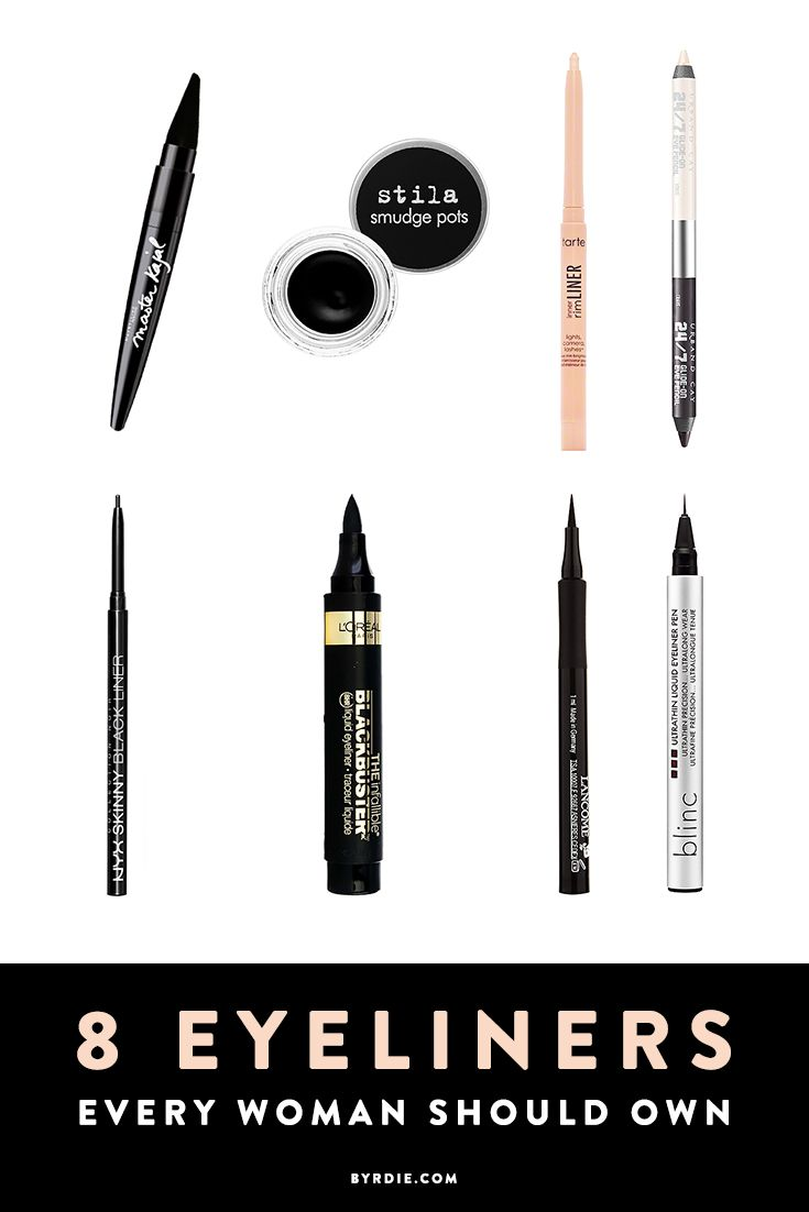 The best eyeliners to achieve every eye makeup look you could ever want