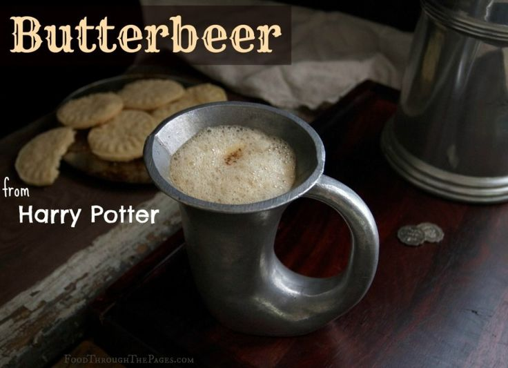 Butterbeer, from Harry Potter