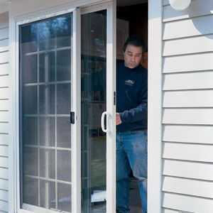 Sliding-Door Tune-up: Maybe we won't have to replace our $1000, 8ft glass door!