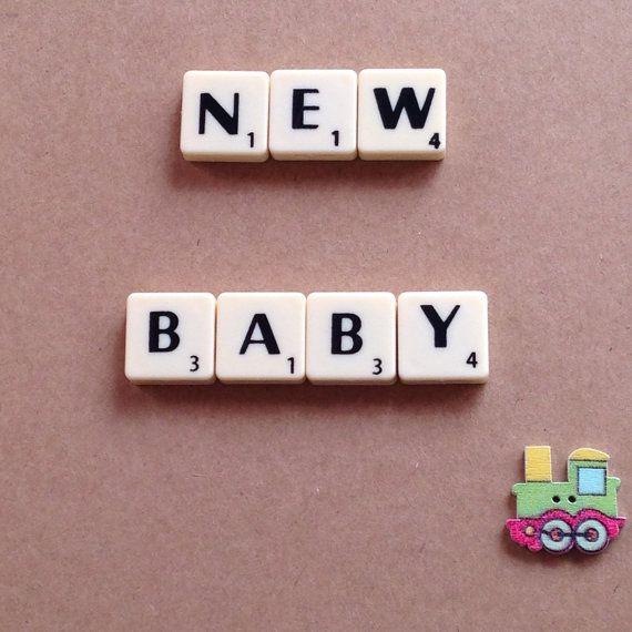 16 best My Word Art images – Scrabble Baby Announcement