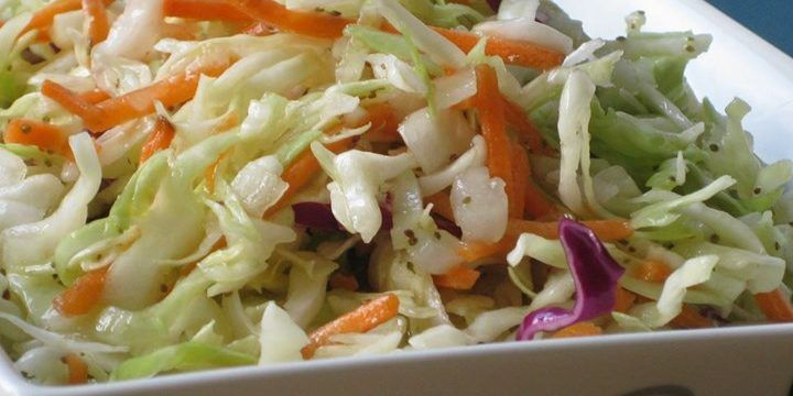Amish Coleslaw -- Delicious and EASY To Make!
