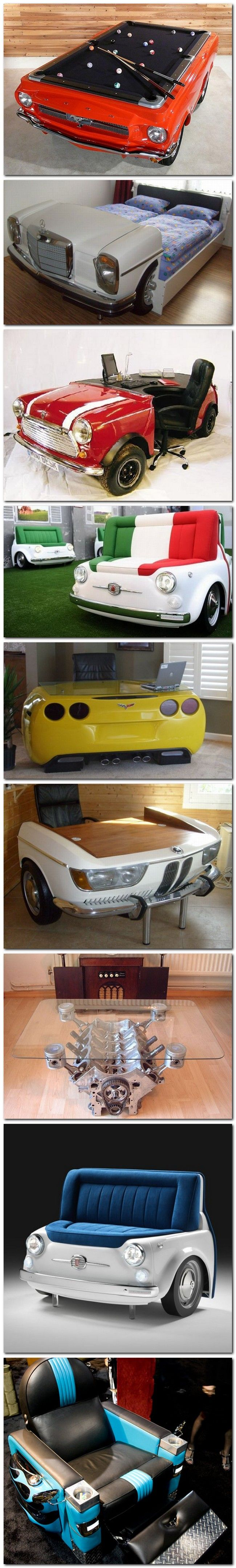 332 best Automotive Furniture and Such images on Pinterest ...