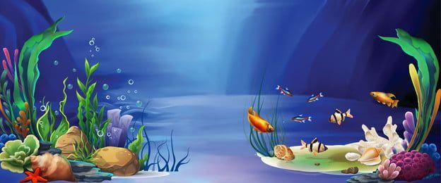Fondo De Verano Bajo El Mundo Vista Azul In 2021 Flower Background Wallpaper Oceans Of The World Ocean Plants