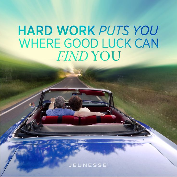 Hard work puts you where good luck can find you. -Unknown. http://zi6.365.pm/
